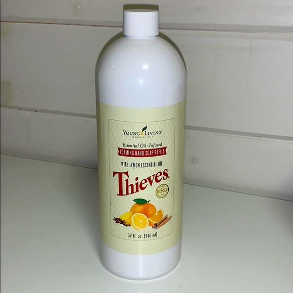 Young Living Thieves Foaming Hand Soap Refill 32oz